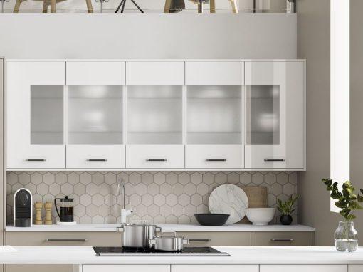 Alta Gloss Pure White C Glazed Wall Units-800x800